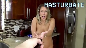 Son Controls Mom with Magic Remote Control - Son Forces Mom to Fuck Him, POV - Mom Fucks Son, Forced Sex, MILF - Nikki Brooks