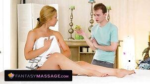 Sarah Vandella Gets Banged By A 18yo Perv During Her Massage