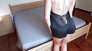 Wife cheats on her husband as soon as he leaves