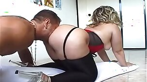 Ass Obsession Scene 5. Watch Fetching buxomy MILF Katty B featuring hot sex action ending with cumshot