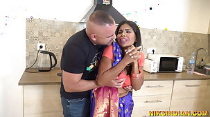 Cheating Bhabhi stripped and fucked rough by her Devar